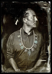 William Wilson, Citizen of the Navajo Nation, Trans-Customary Diné Artist