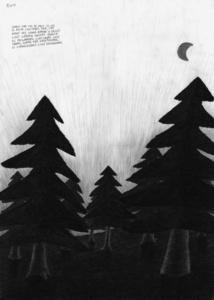 Untitled (from the series: Die gezeichneten Ausstellungen)