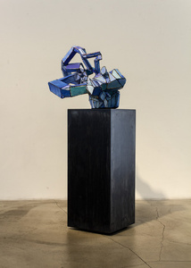 Blue Sculpture
