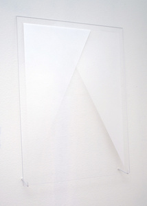 Untitled (Silver Triangles)