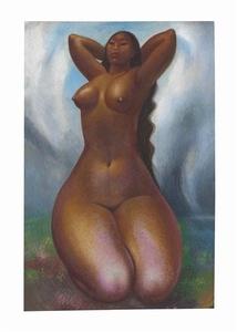 Desnudo de Nieves Orozco