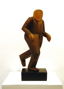Untitled (Running Businessman)