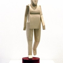 Untitled (Small White Figure)