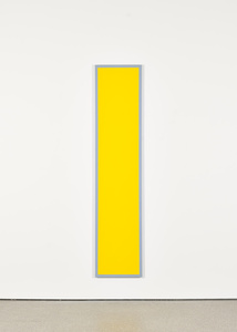 Untitled (Yellow Monochrome with Grey)
