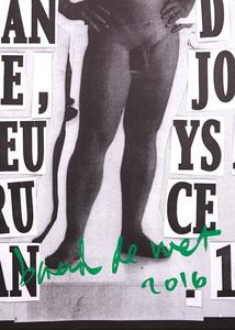 Homage to Piero Manzoni, Ben Vautier, Gilbert and George, Joseph Beuys and Bruce Nauman. 1992