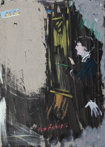 Manet in front of Window