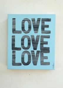 Love Love Love (blue)