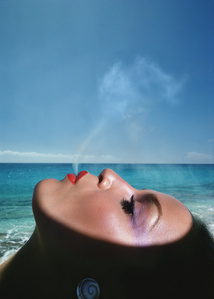 Jerry Hall, Saint Martin, French West Indies © Hiro