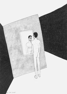 Das Double (from the sereies: Die gezeichneten Ausstellungen)