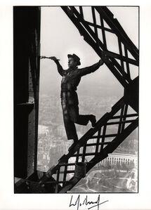 The Eiffel Tower Painter, Paris