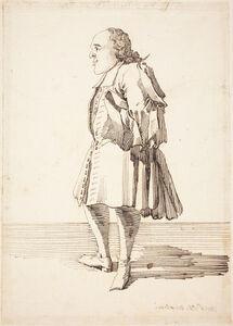 Caricature of a Male Figure
