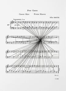 Mass Black Implosion (Mikrokosmos: Free Canon, Bela Bartok)