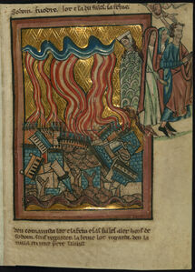 Lot and his Family Flee Sodom (Genesis 19:15-26)
