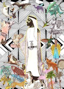 The great ruler, Sheikh Zayed Bin Sultan