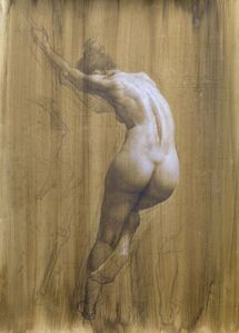 Untitled (the female nude drawing)