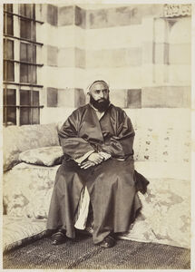 Portrait of 'Abd al-Qadir, Damascus