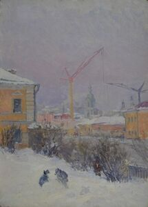 Moscow landscape