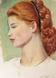 Portrait of a Redhead