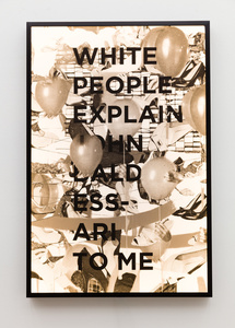 White People Explain John Baldessari To Me,