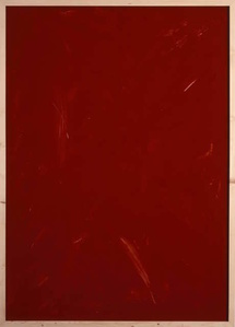 Rote Acrylglaszeichnung 19