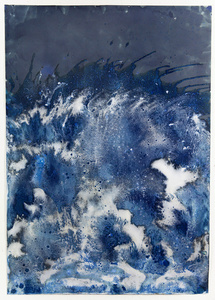 Littoral Drift Nearshore #447 (Springridge Road, Bainbridge Island, WA 03.11.16, Three Waves, Poured)