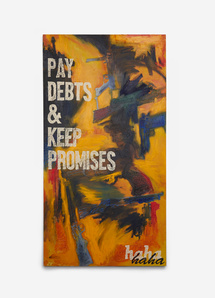 A Just Society (Pay Debts & Keep Promises)
