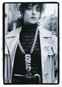 On the Street, Sex Medallion, NYC, 1983