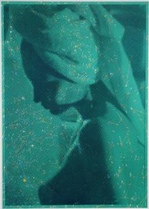 Camilla, Hotel Platine, Room 705 (green print)
