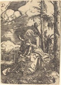 Virgin in a Landscape