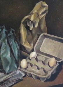 Eggs and paper