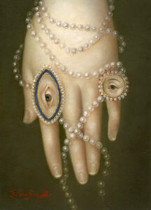Hand with Pearls and Lover's Eye