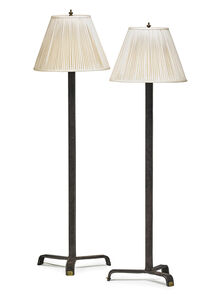 Pair of floor lamps, France