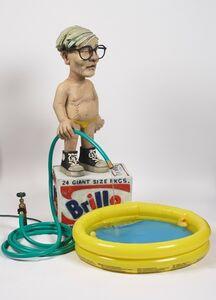 Fountain ( Warhol Watering Pool Boy )