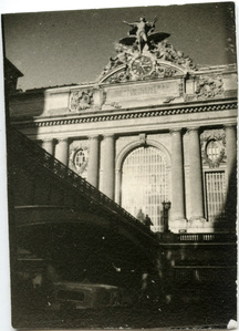 Grand Central Exterior Façade with Shadow