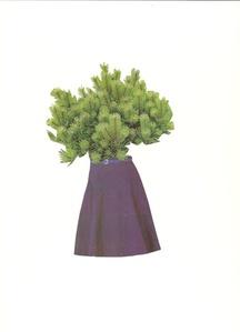 Faldas y plantas