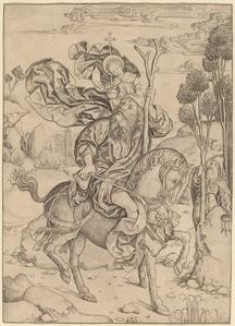 Saint Christopher on Horseback