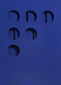 Intersuperficie curva dal blu (Curved Intersurface from Blue)