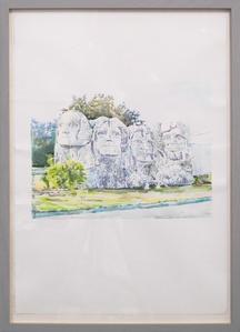 Untitled (Mount Rushmore, China)