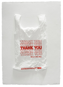 THANK YOU THANK YOU THANK YOU THANK YOU THANK YOU Have a Nice Day Plastic Bag