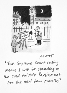 The Supreme Court Ruling Means I Will Be Standing In The Cold Outside Parliament For The Next Few Months