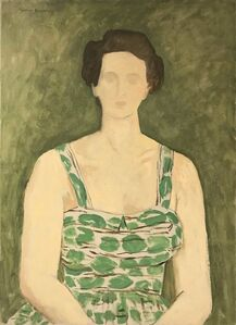 A Lady in a Green Sundress