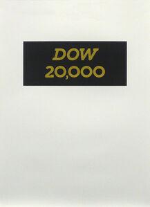 DOW 20,000