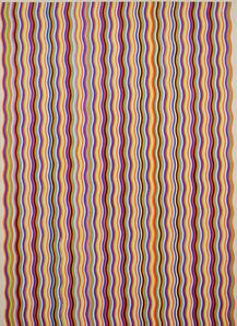 Stripe Painting-Cola