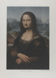 L.H.O.O.Q. Mona Lisa