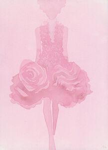 Rose (Dress by Alexander McQueen)