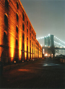 Lighted Warehouse
