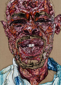 Untitled (Squinting Man)