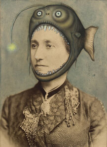 Untitled (Woman With Fish Hat)