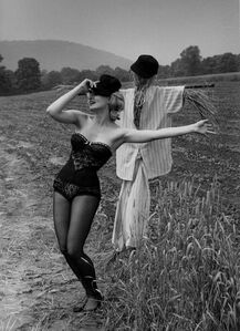 Julie Newmar Warming up for Her Next Devil's Role in 'Damn Yankees', Valley Forge, PA
