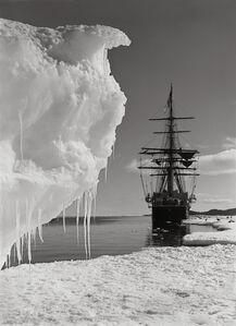 The Terra Nova and a berg at ice-foot,